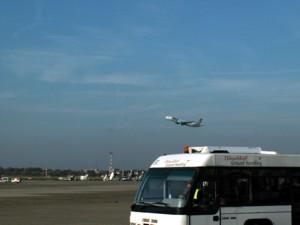 Flughafen-Zubringer und Airport-Shuttle Basel-Mulhouse / Strasburg on