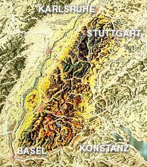 Regionen Schwarzwald